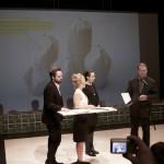 Odovzdávanie ocenenia cena EXIT design, Praha